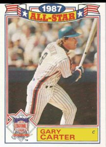 1988 Topps All-Star Glossies Gary Carter