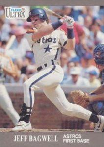 1991 Fleer Ultra Update Jeff Bagwell