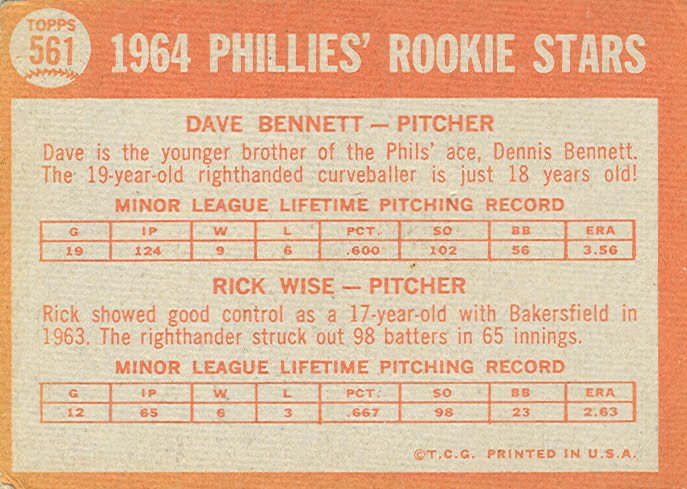 1964-Phillies-Rookies-Bennett-Wise-back