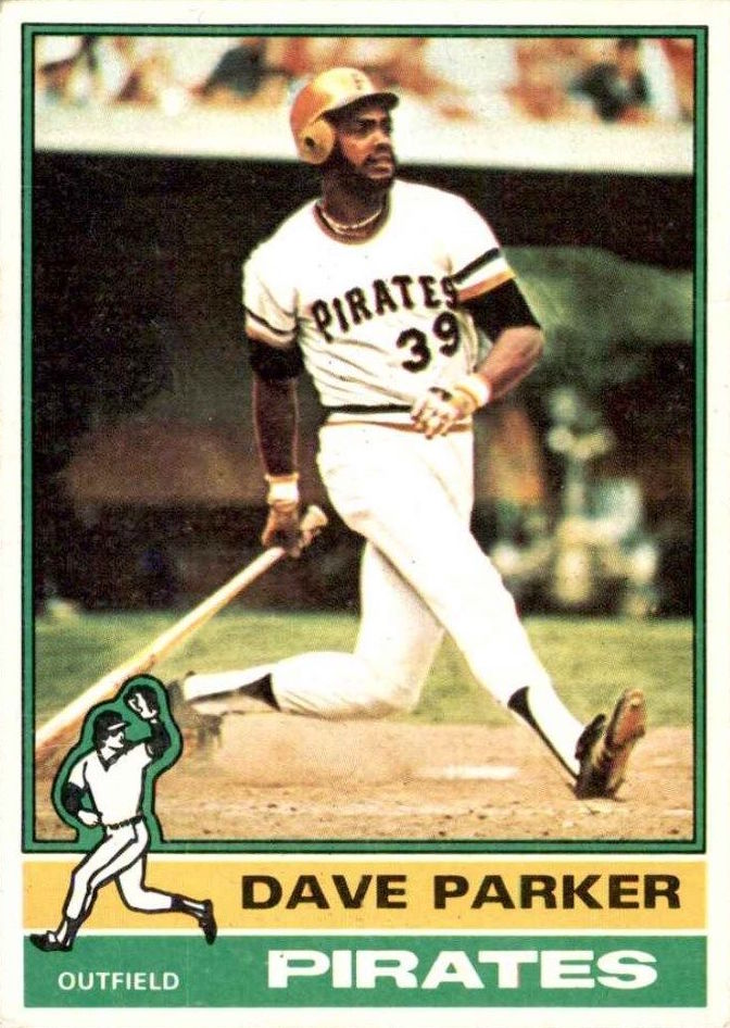 1976 Topps Dave Parker