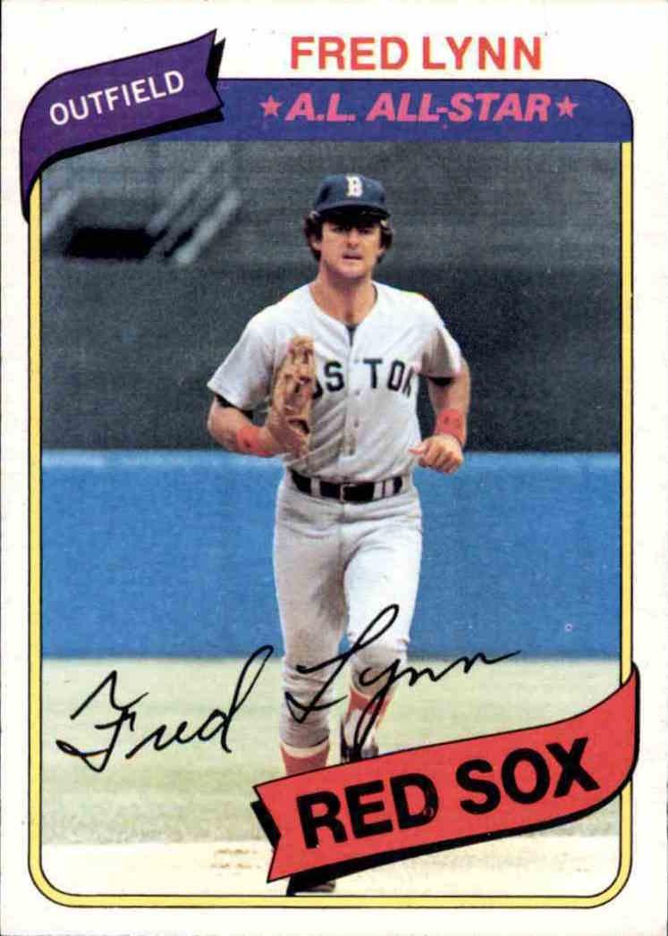 1980 Topps Fred Lynn