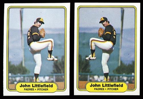 1982 Fleer John Littlefield