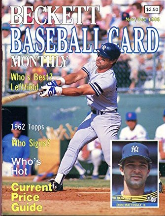 The Best Baseball Card From 1986 Is The Simplest Wax