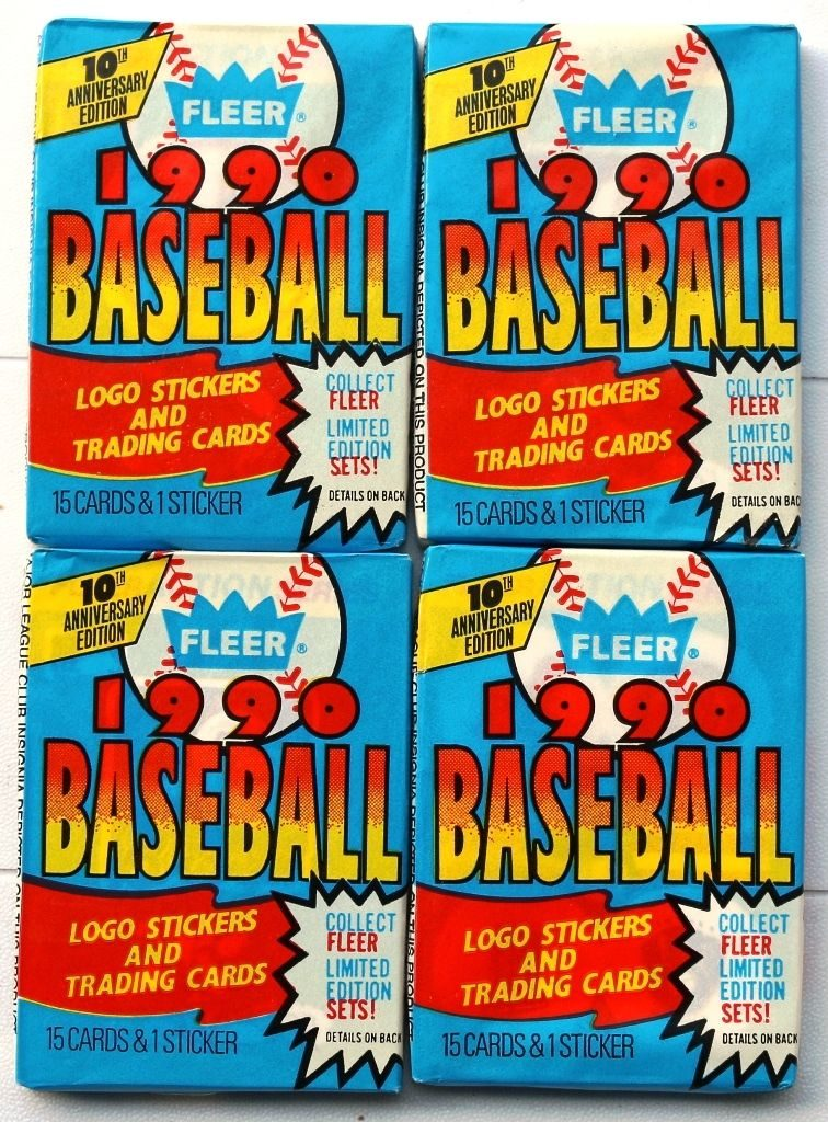 1990 Fleer Wax Packs