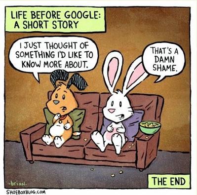 Before Google - Damn Shame