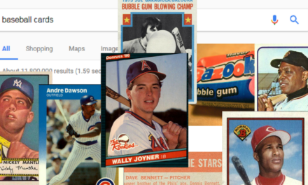 What Google Thinks About Your Baseball Cards … and Our Responses