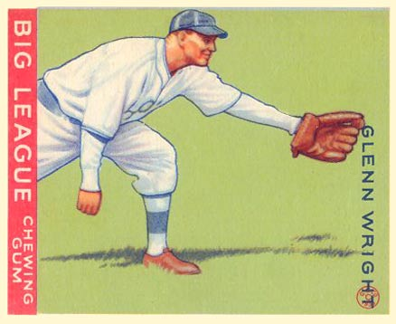 1933 Goudey Glenn Wright