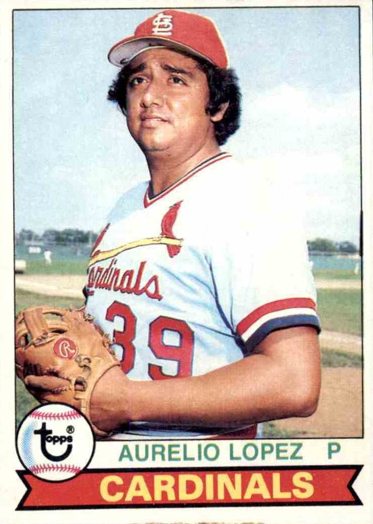 1979 Topps Aurelio Lopez