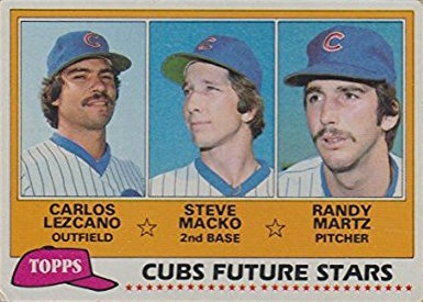 1981 Topps Cubs Future Stars