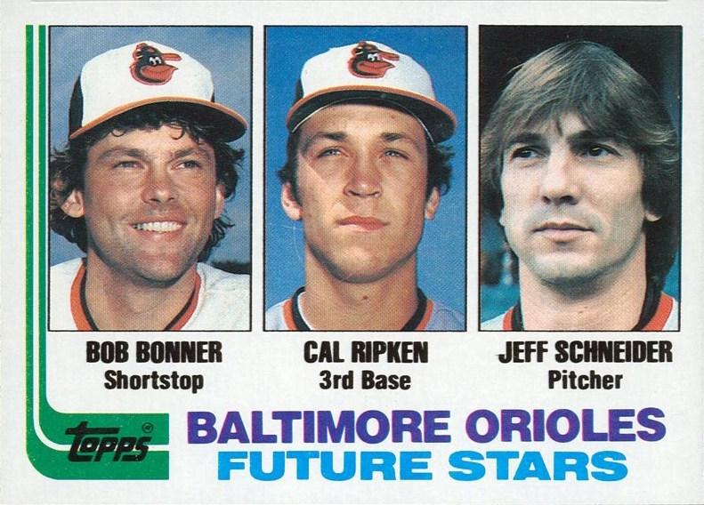 1982 Topps Orioles Future Stars