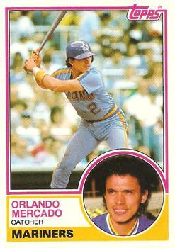 1983 Topps Traded Orlando Mercado