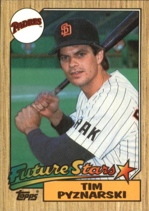 1987 Topps Future Stars Tim Pyznarksi