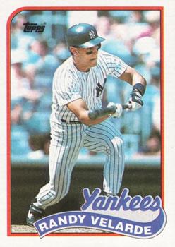 1989 Topps Randy Velarde