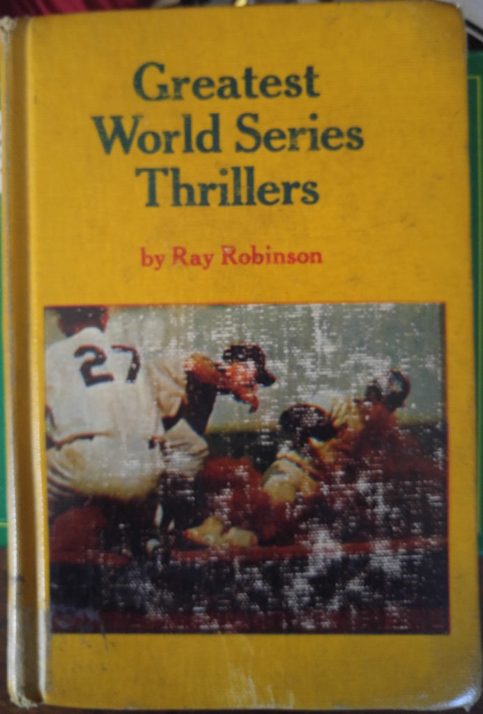 Greatest World Series Thrillers (cover)
