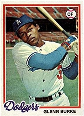 1978 Topps Glenn Burke