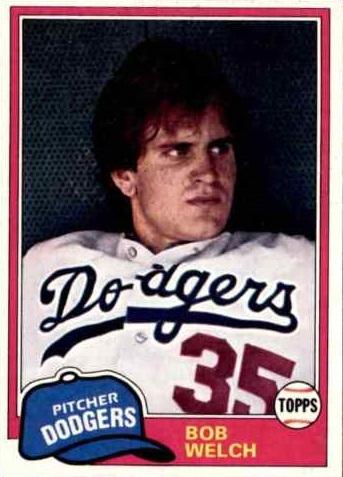 1981 Topps Bob Welch