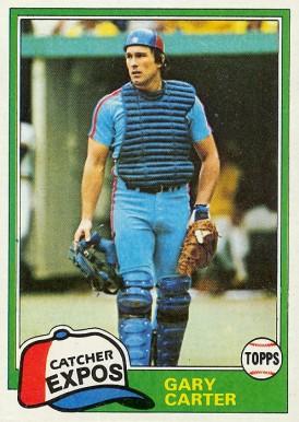 1981 Topps Gary Carter