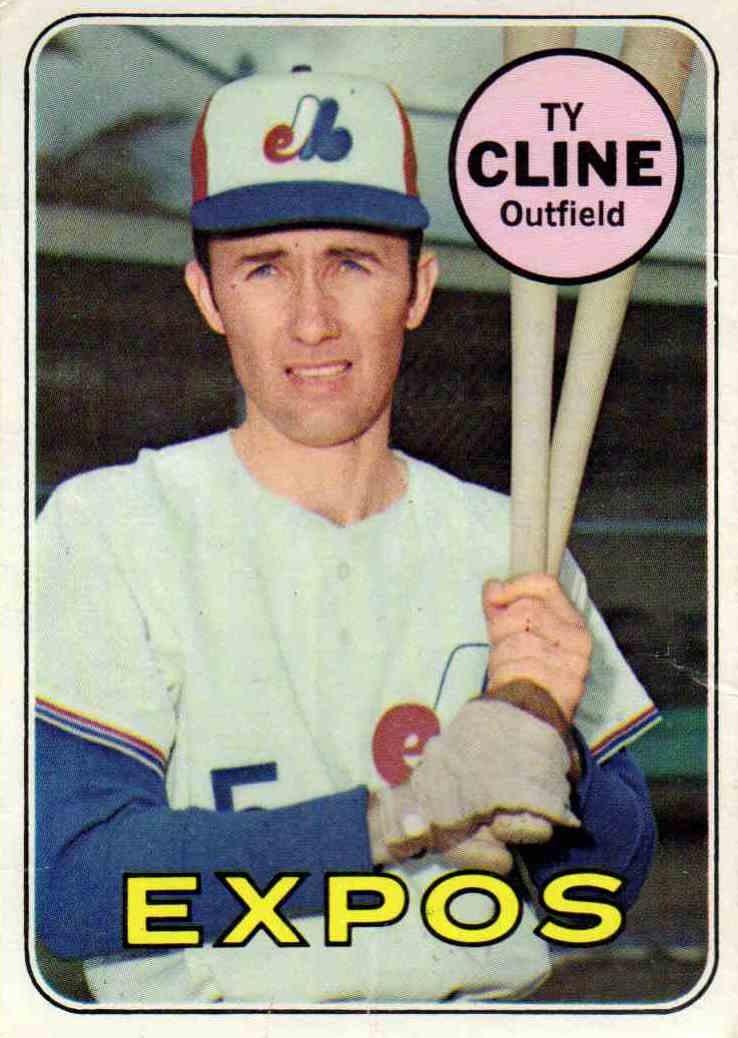 1969 Topps Ty Cline