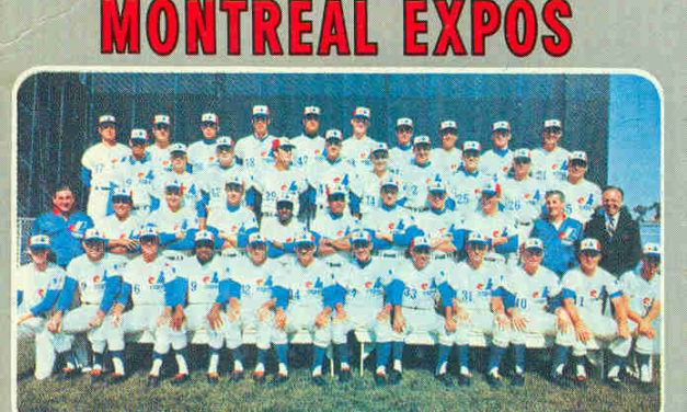 35 Facts Baseball Card Collectors Need to Know About the Montreal Expos