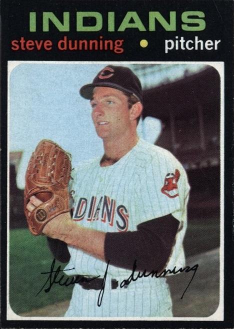 1971 Topps Steve Dunning