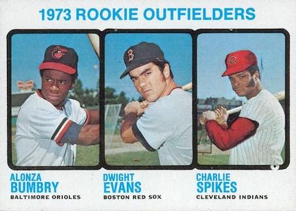 1973 Topps Dwight Evans