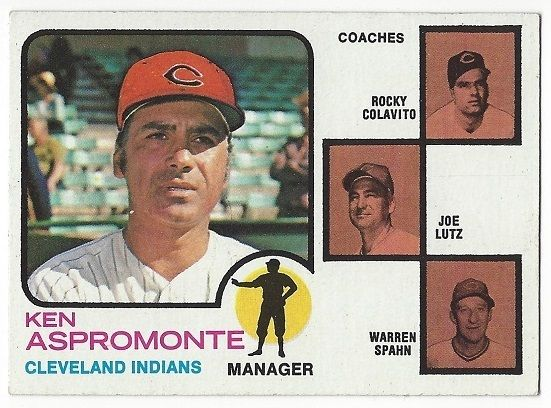 1973 Topps Ken Aspromonte