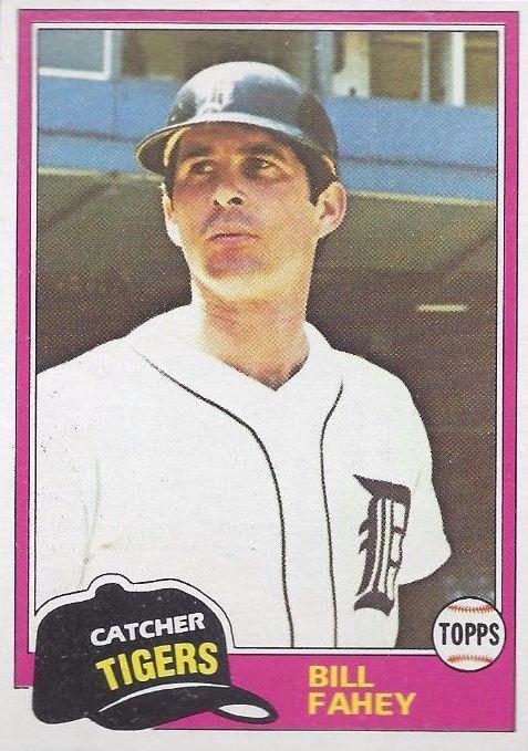 1981 Topps Traded Bill Fahey