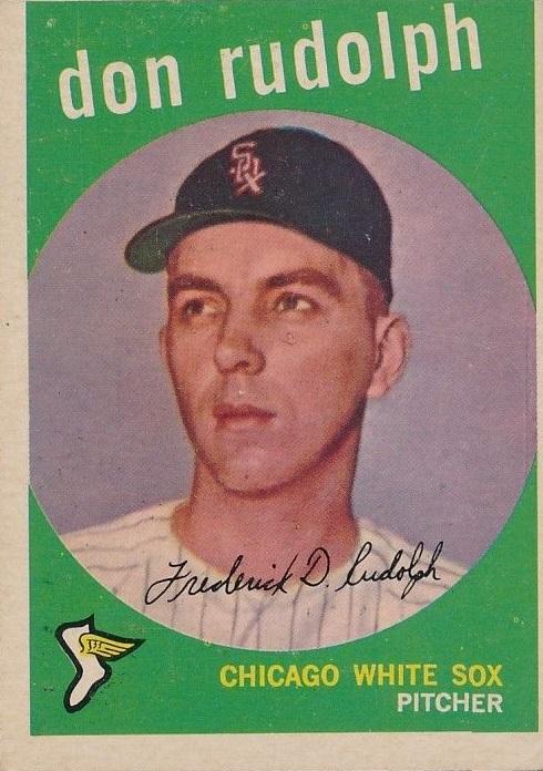 1959 Topps Don Rudolph