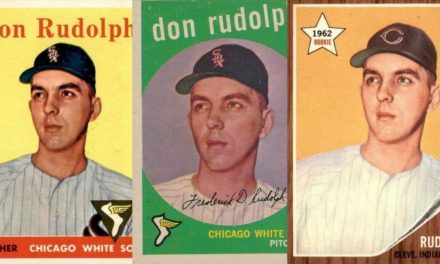 They Think He's Cute! How Topps Fell in Love with a Photo of (Don) Rudolph