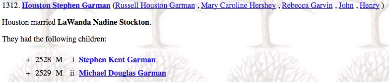 Houston Stephen Garman