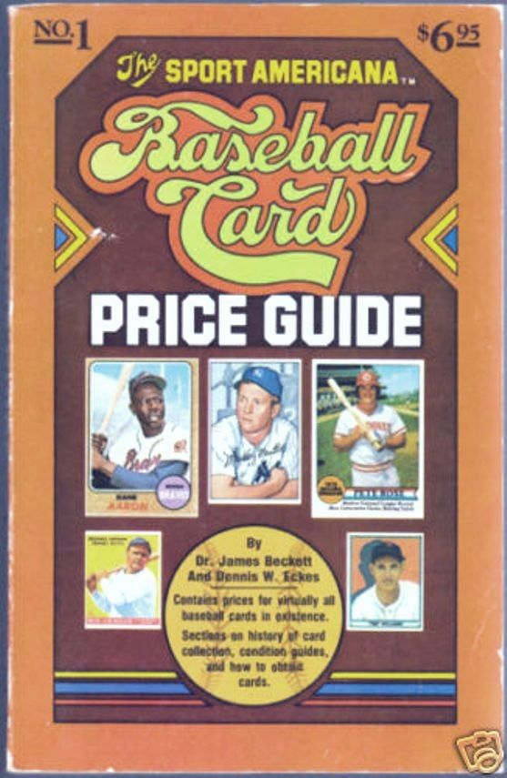 The Sport Americana Baseball Card Price Guide. Number 1