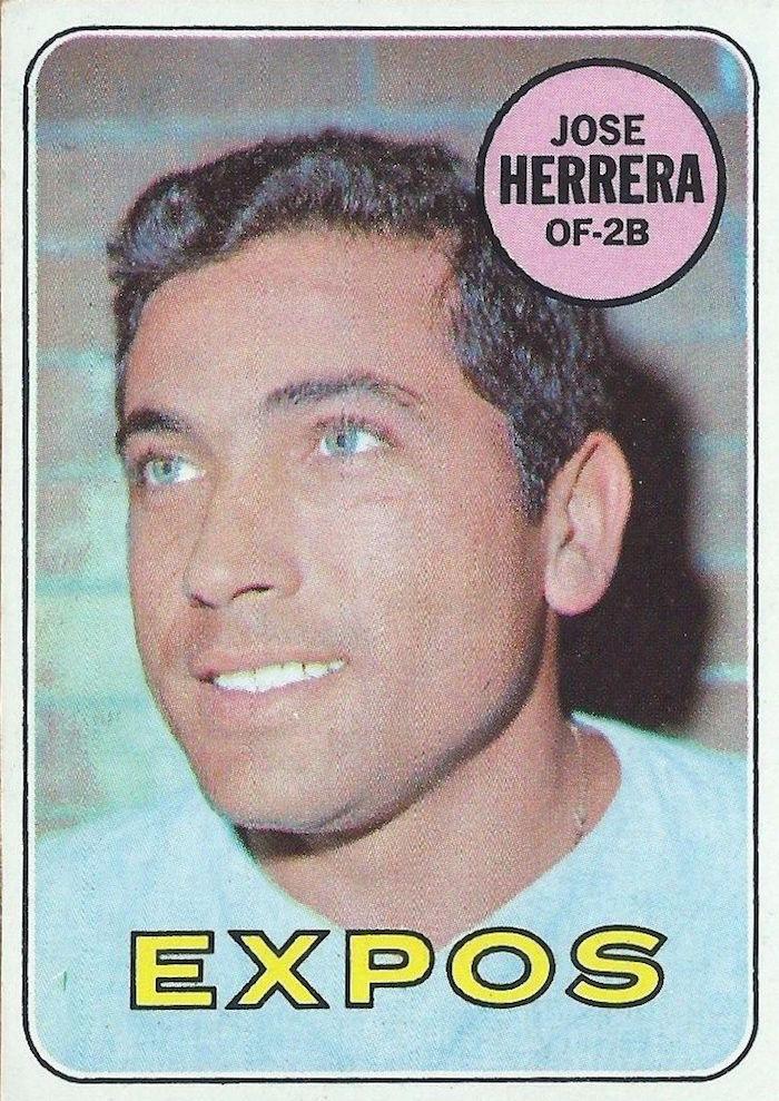 1969 Topps Jose Herrera