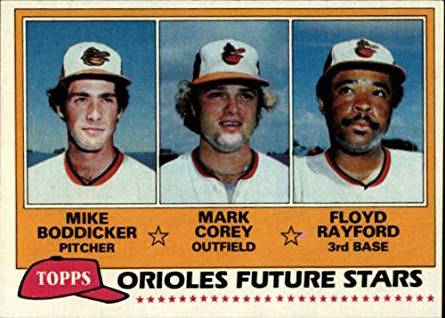 1981 Topps Mike Boddicker