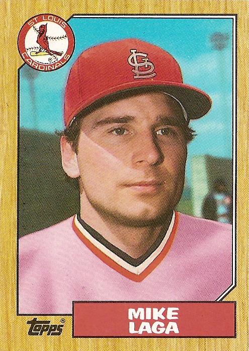 1987 Topps Mike Laga