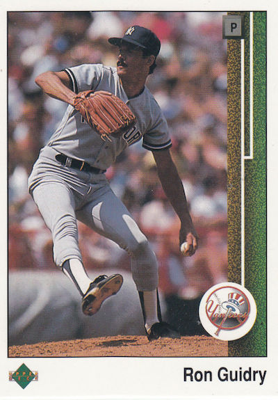 1989 Upper Deck Ron Guidry