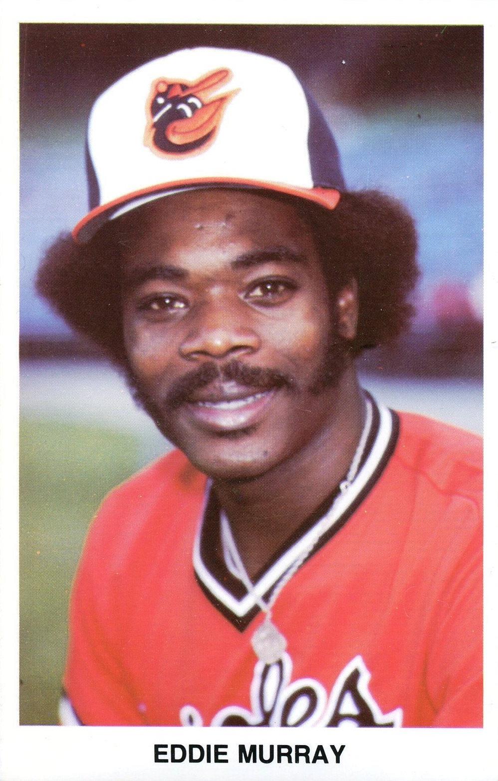 1977 Baltimore Orioles Eddie Murray Postcard