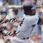 Worst Hall of Fame Swing on Cardboard? Try This Jim Rice Baseball Card