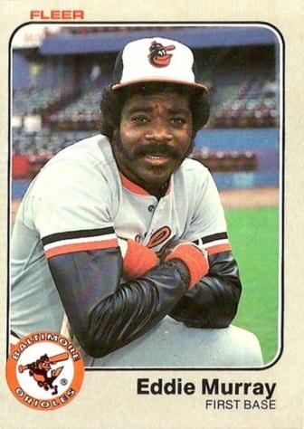 1983 Fleer Eddie Murray