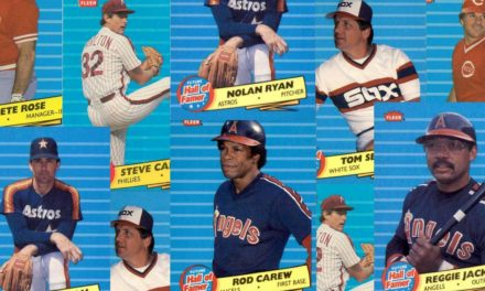 Chasing Future Hall of Famers with 1986 Fleer Baseball Cards