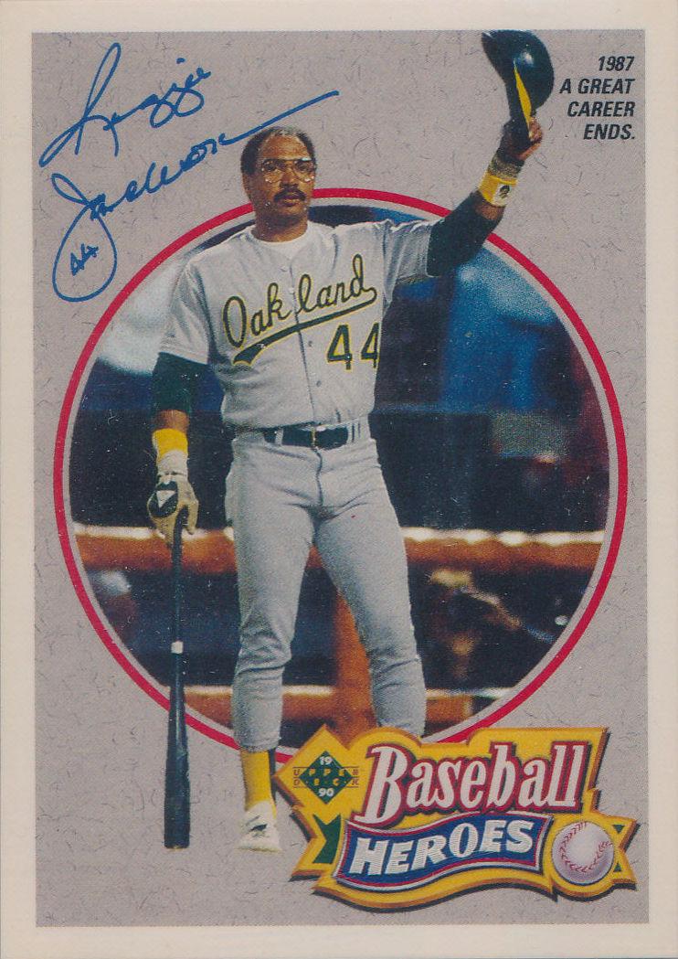 1990 Upper Deck Reggie Jackson Baseball Heroes