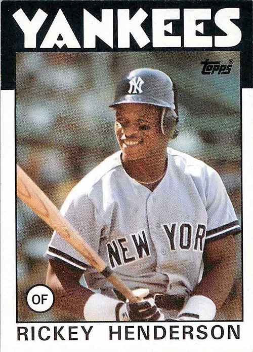 1986 Topps Baseball Cards Which Are Most Valuable