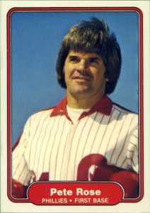 1982 Fleer Pete Rose (#256)