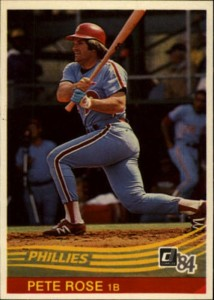 1984 Donruss Pete Rose (#61)