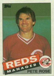 1985 Topps Pete Rose (#547)
