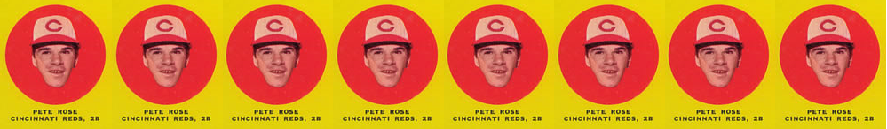 1963 Topps Pete Rose Rookie Card A Hobby Trendsetter Wax