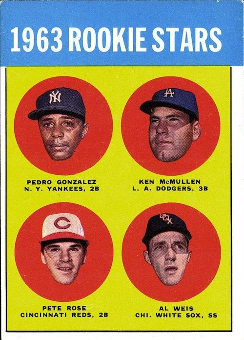 1963 Topps Pete Rose (#537)