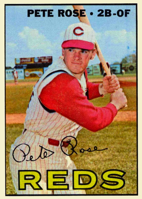 1967 Topps Pete Rose (#430)