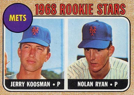 1968 Topps Baseball Cards – 10 Most Valuable