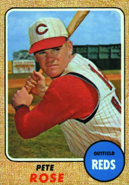 1968 Topps Pete Rose (#230)