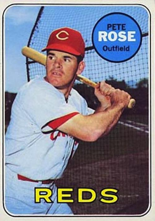 1969 Topps Pete Rose (#120)
